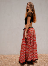 Load image into Gallery viewer, Full and Fabulous Skirt: Red