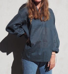 Light cotton boyfriend shirt(unisex)