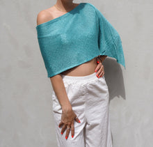 Load image into Gallery viewer, Shawl: Mermaid Green