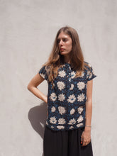 Load image into Gallery viewer, Print and Stitch Shirt: Blue Floral