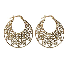 Load image into Gallery viewer, Gold Plated Silver Earrings