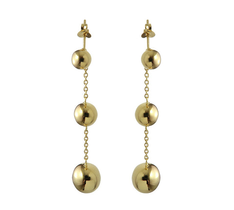 Gold Plated Sterling Silver Earrings