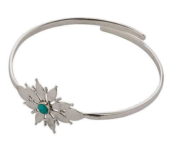 Sterling Silver Turquoise Bangle