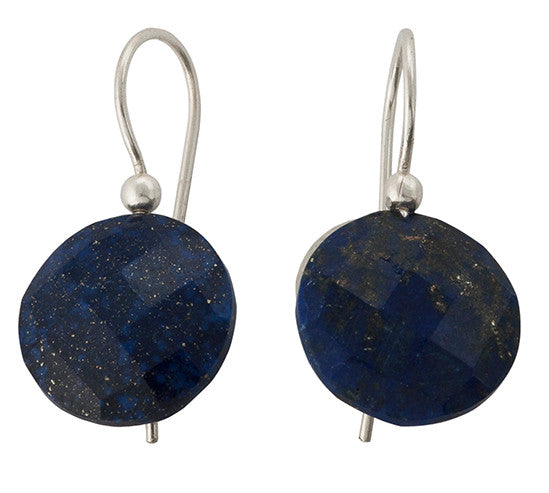Sterling Silver Lapis Lazuli Earrings
