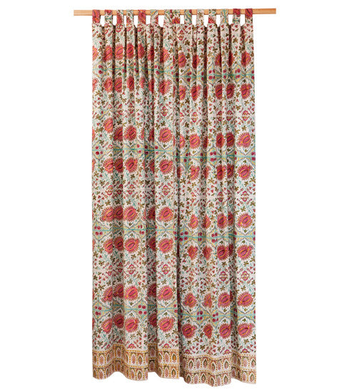 Blockprint Curtain