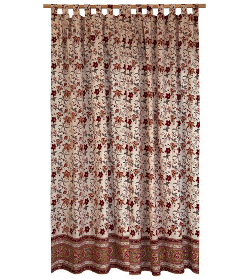 Blockprint Curtains