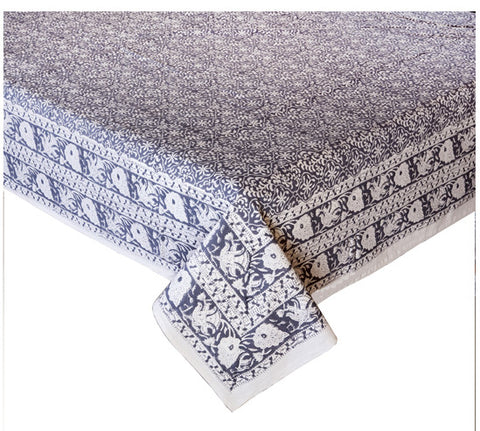 Block Print Bed Cover