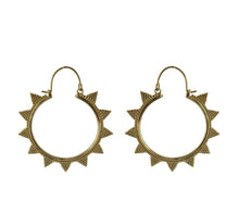 Load image into Gallery viewer, Brass Earrings