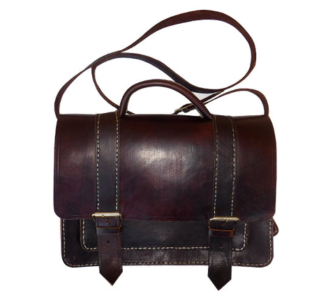 Moroccan Leather Briefcase