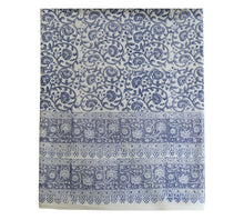 Load image into Gallery viewer, Block Print Table Cloth / Bed Cover