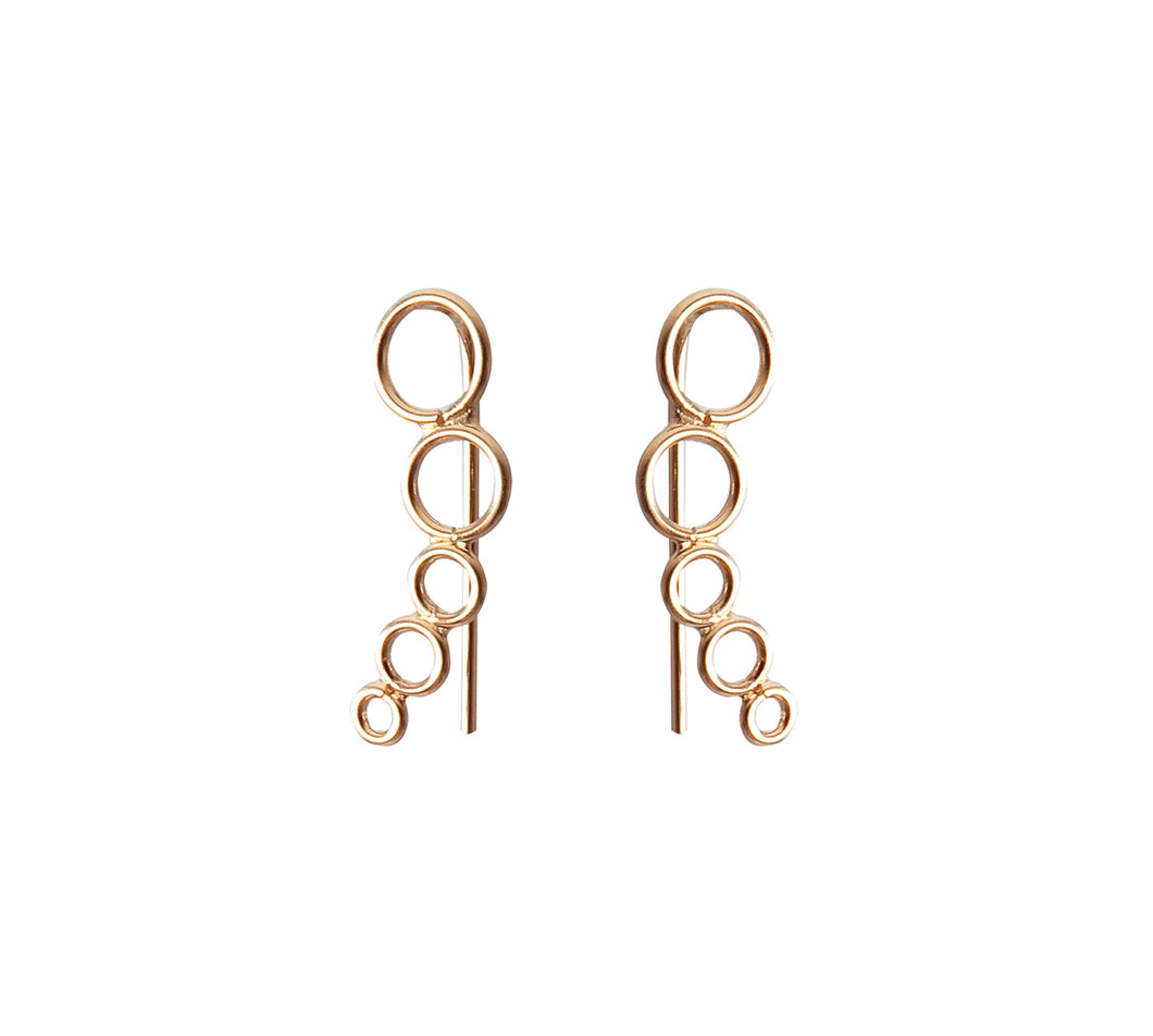 Gold Plated Sterling Silver Ear Cuff