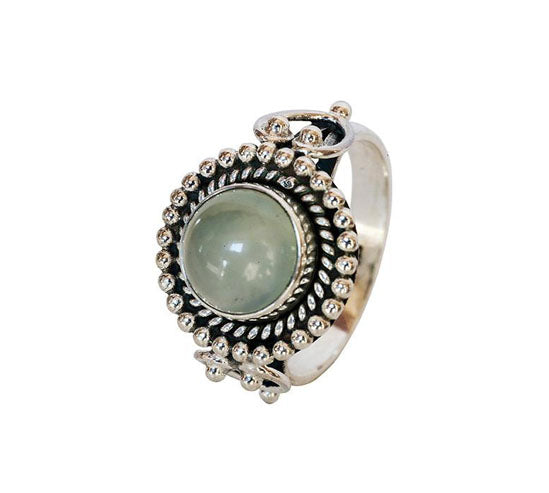 Sterling Silver Chalcedony Ring