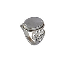 Load image into Gallery viewer, Sterling Silver Moonstone Ring