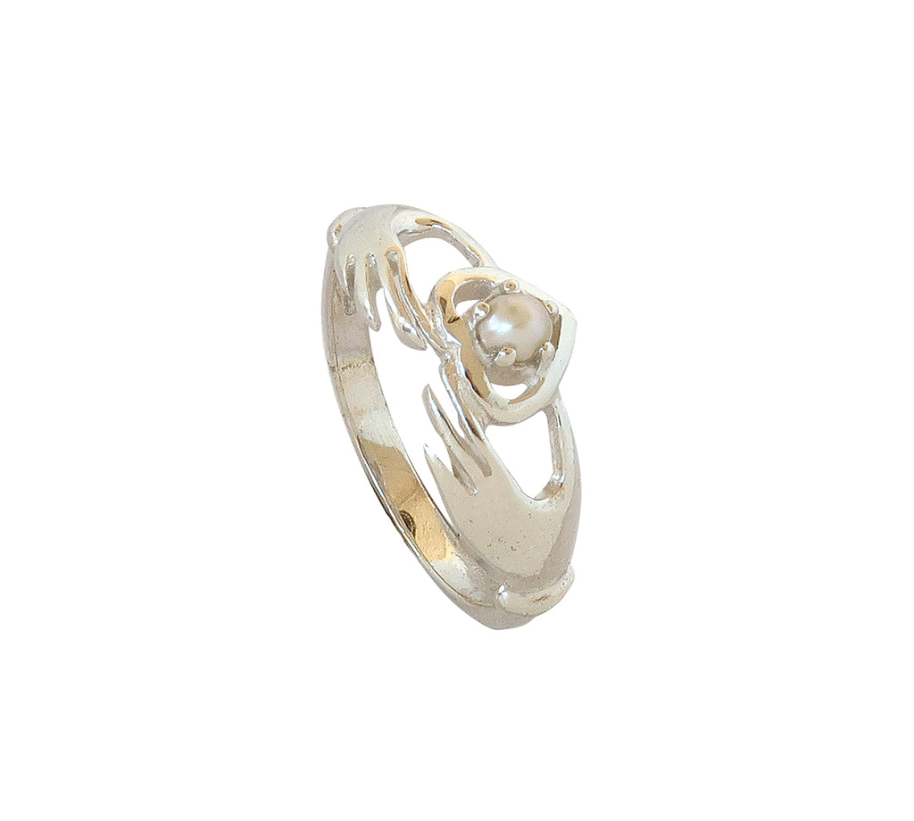 Sterling Silver Semi-precious Stone Ring