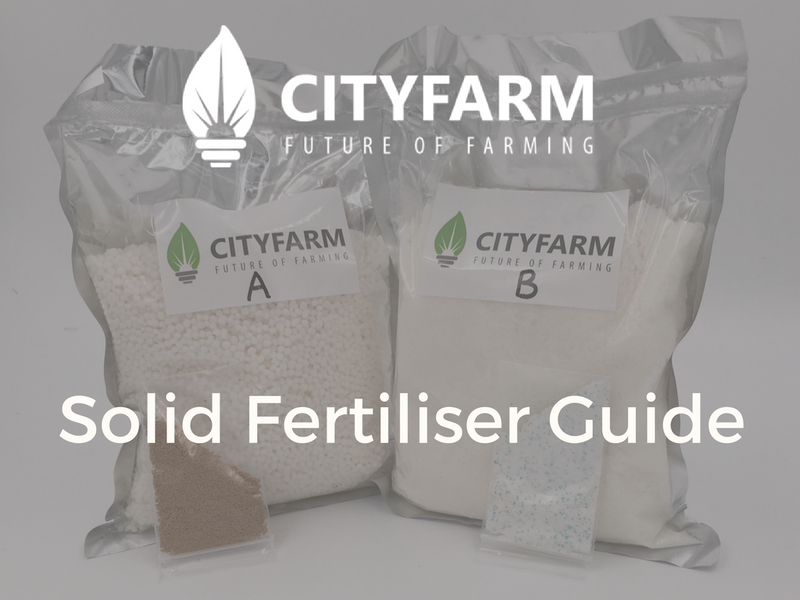 Solid Fertiliser Guide