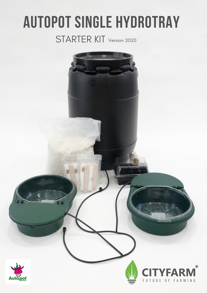 Autopot Single Hydrotray Starter Kit (2 Pot Kit)