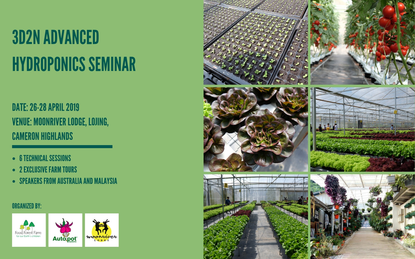 Advanced Hydroponics seminar