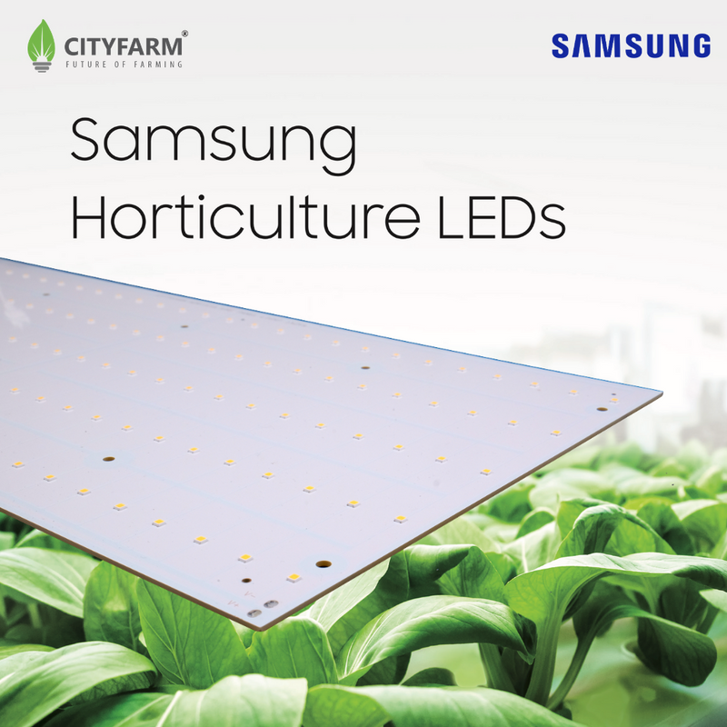 50cm x 23.5cm CityFarm Horticulture Full Spectrum LED Panel Growlight - Panel & Driver Only