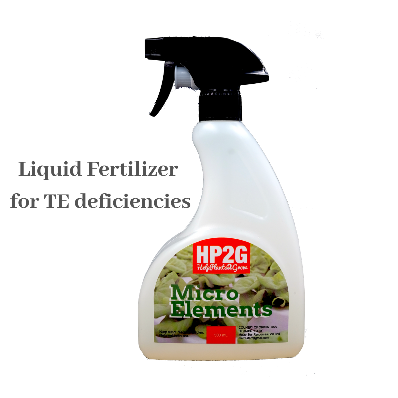 HP2G Micro Elements Foliar Fertilizer (500ml)