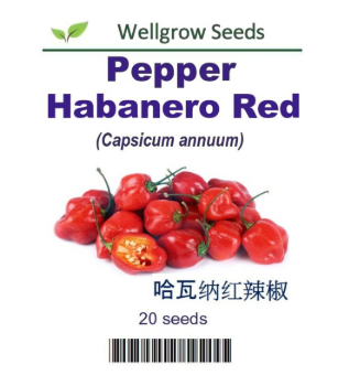 WHT - Pepper Habanero Red