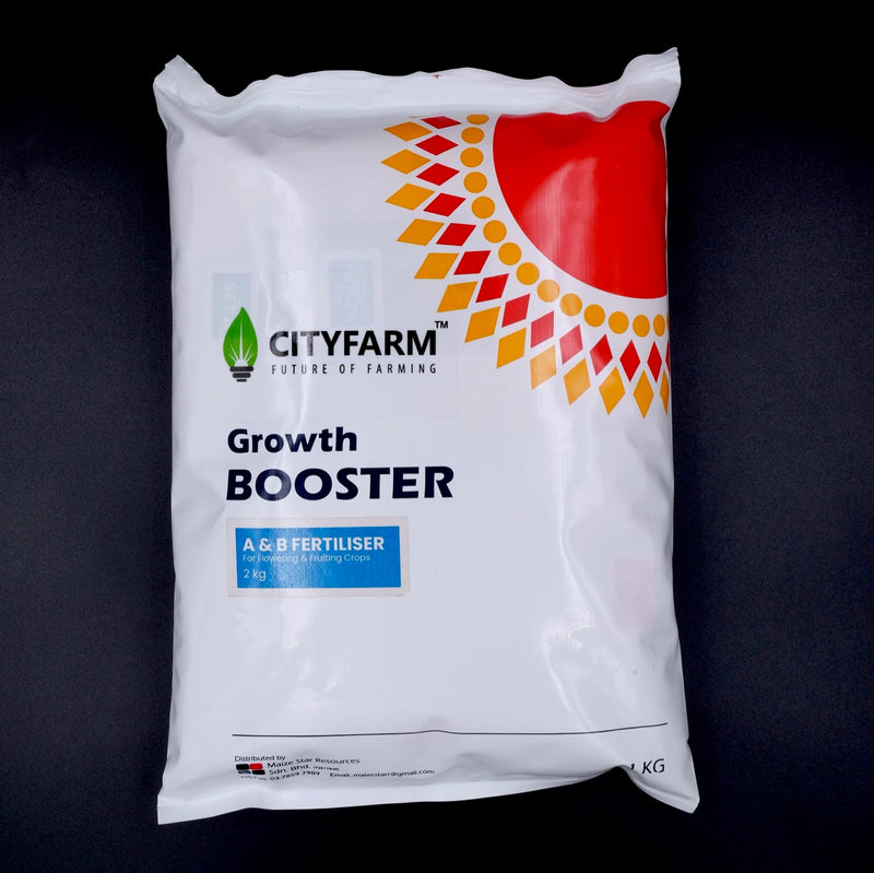 2kg Hydroponic A & B Solid Fertilizer (For Flowering & Fruiting Crops) - CityFarm