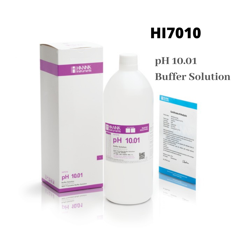 Hanna Instruments pH 10.01 Calibration Solution 1 Liter HI7010/1L
