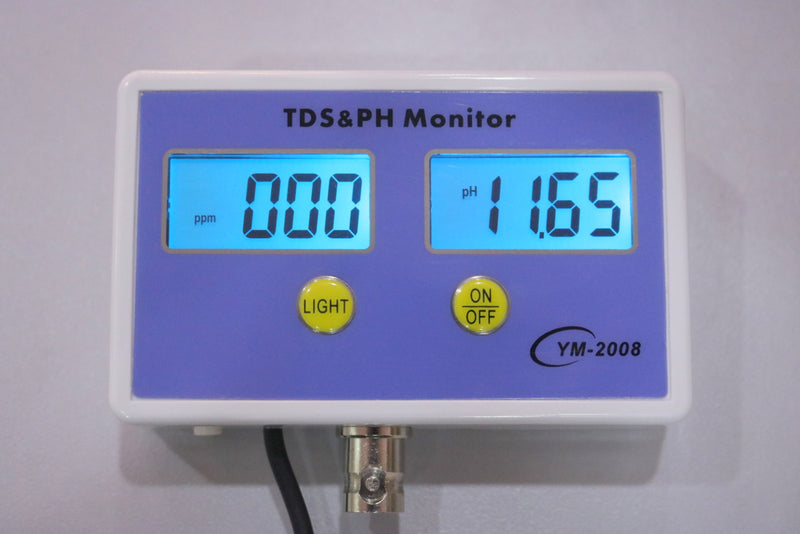 TDS & pH Monitor - CityFarm
