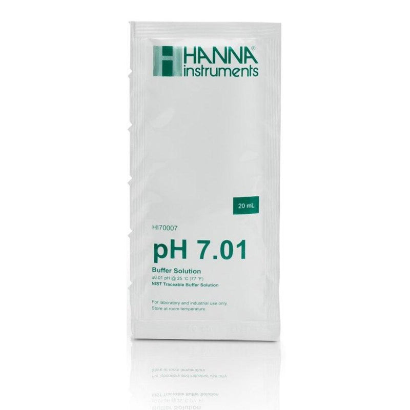 Hanna Instruments pH 7.01 Buffer (20 mL sachet) HI70007
