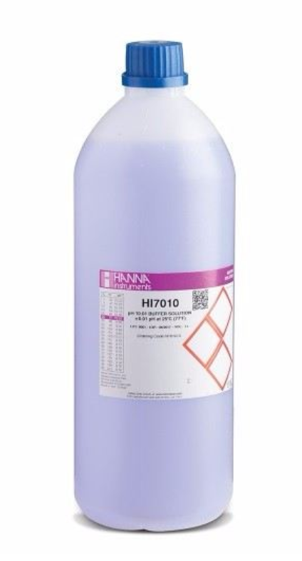 Hanna Instruments pH 10.01 Calibration Solution 1 Liter HI7010/1L - CityFarm