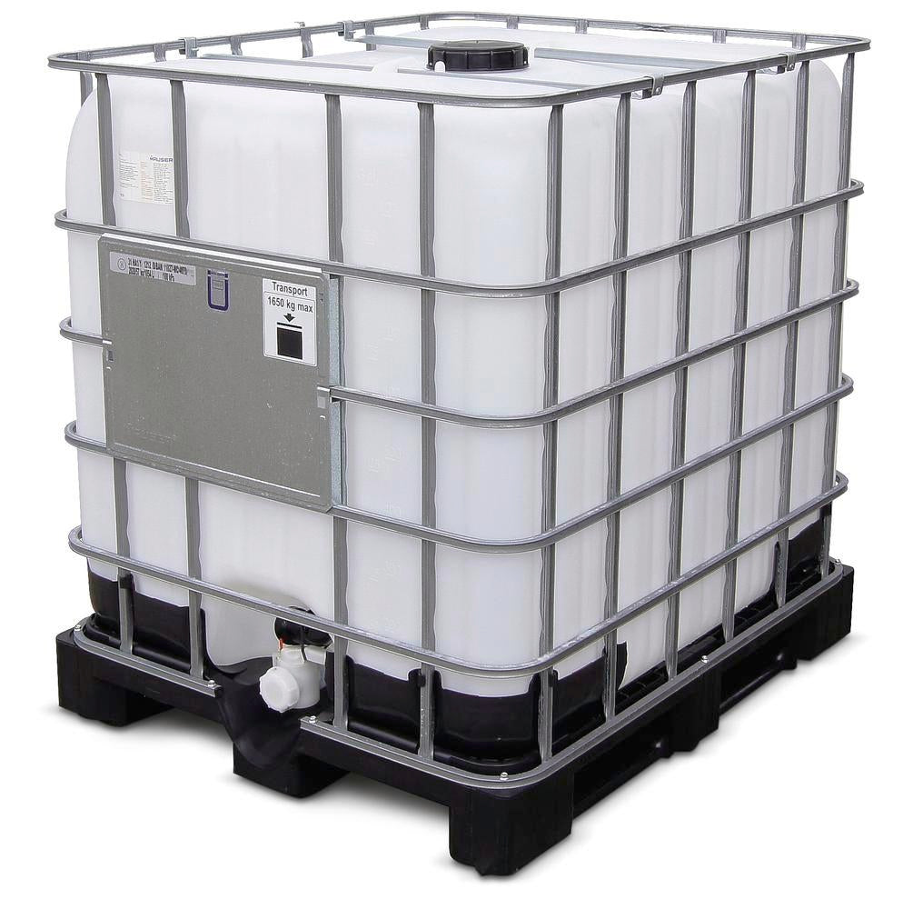 1000 liters ibc tank refurbished cityfarm. Black Bedroom Furniture Sets. Home Design Ideas