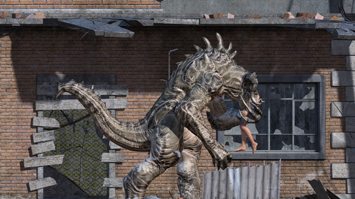 Vore Out Deathclaw  Mercilessnature - Vore  Crush -9890