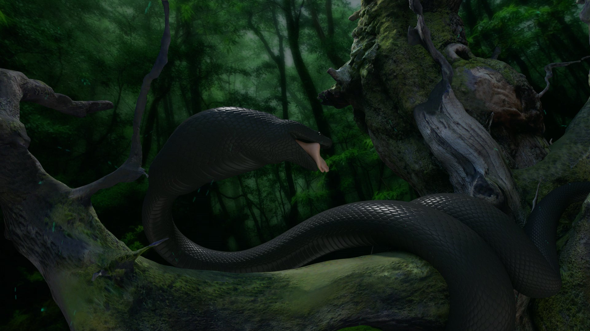 Dream of Titanoboa 1 - Epic Snake Vore