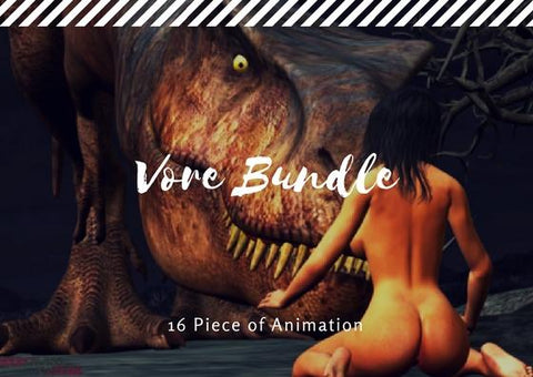 All in One Vore Bundle Pack (SAVE $98)