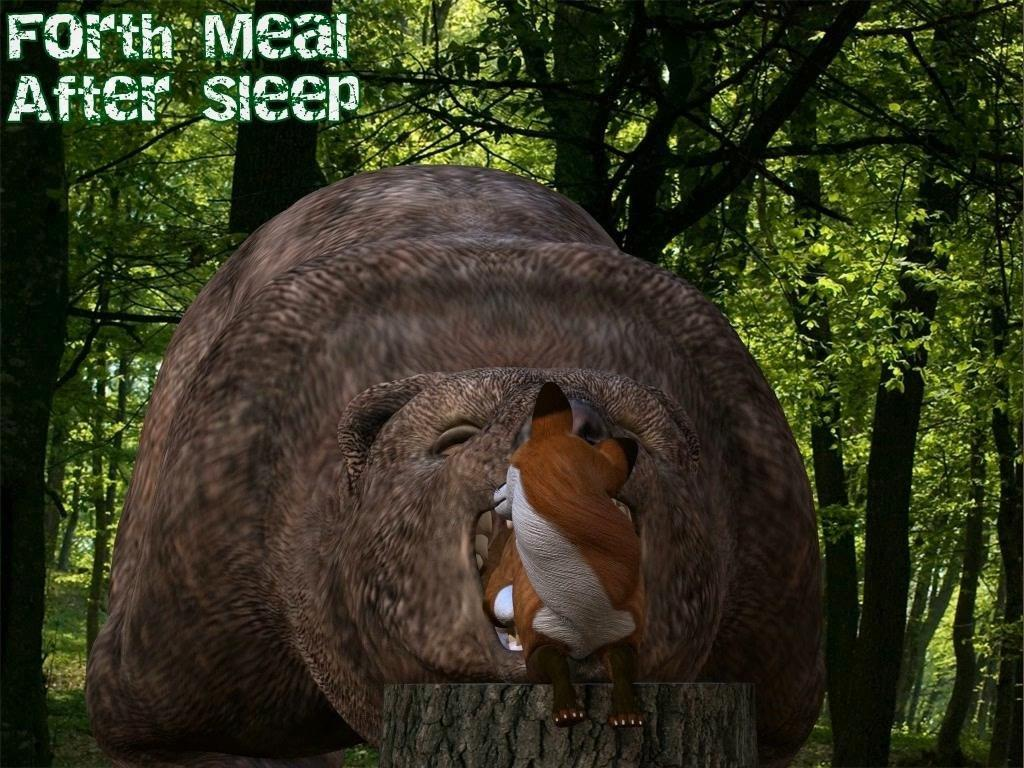 Forth Meal After Sleep - Vore Animation - Mercilessnature