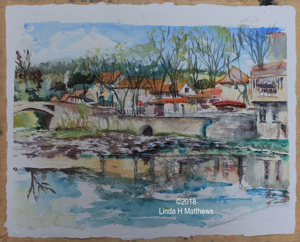 Private Painting & Drawing Tuition in Languedoc France with Linda H Matthews