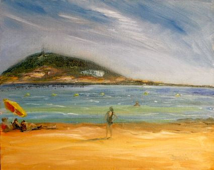 Sete from Meze Oil Painting
