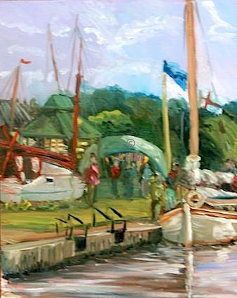Museum of the Broads Stalham - Oil