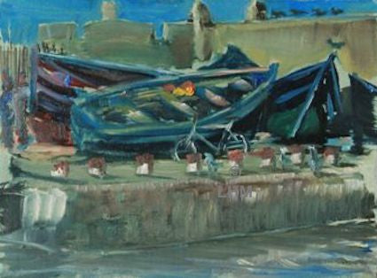 """Essaouira Port"" - Oil"