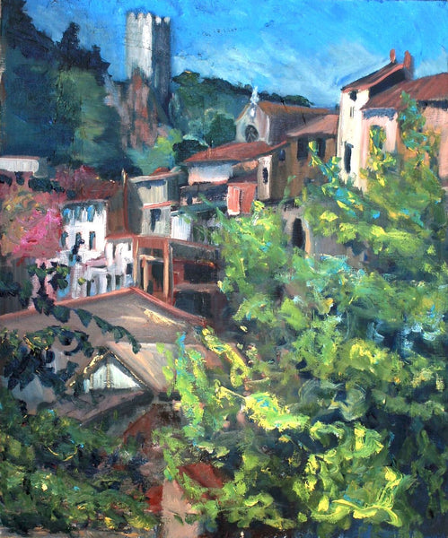 """Roquebrun - from the Mill"""