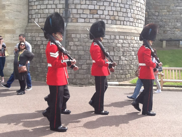 """Cornets and Bayonets"" - North Terrace Windsor Castle"