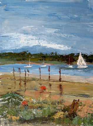 """ The Orwell from Pin Mill"" - Acrylic"