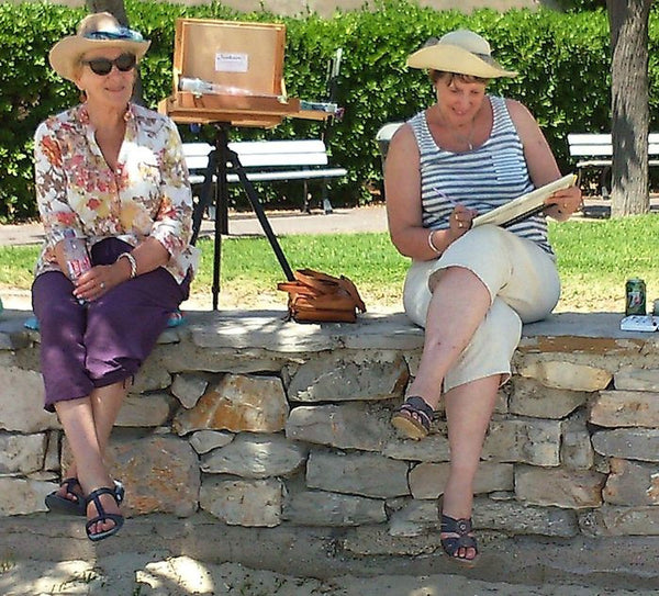 7 Day Plein Air Painting Holidays - Languedoc France; 2020