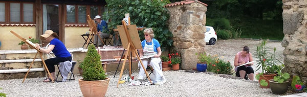 7 Day Plein Air Painting Holidays - Languedoc France; 2018