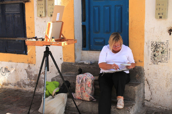 Plein Air Painting in Essaouira Morocco  1-8 October 2016