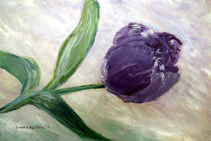 """Purple Tulip"""