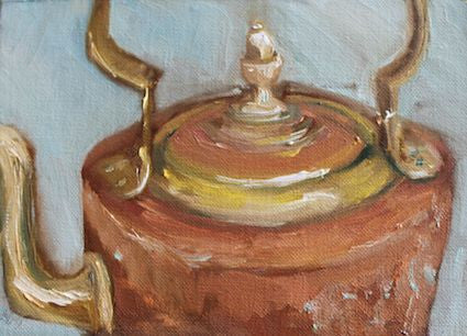 """Copper Kettle"" - Oil"