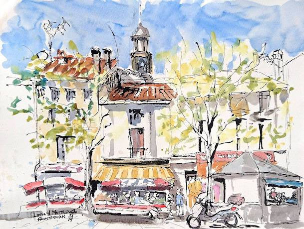 Cruise Sketches