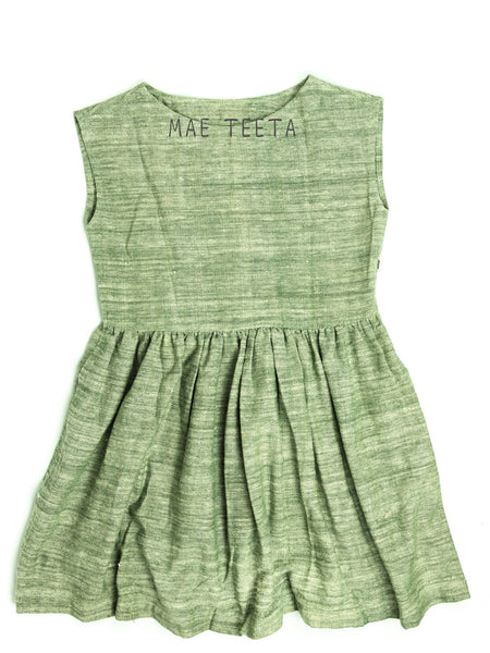 Flare Dress (Mango Green)