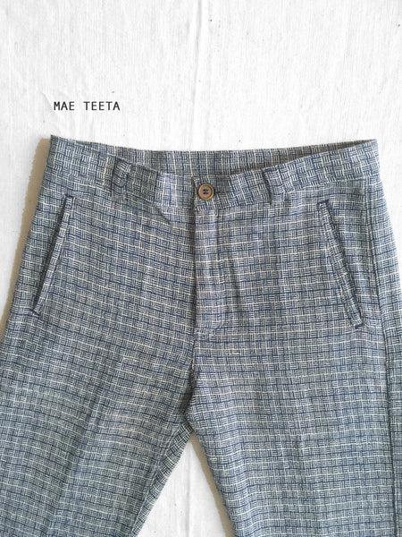 """Turtle Shell"" Trousers Men"