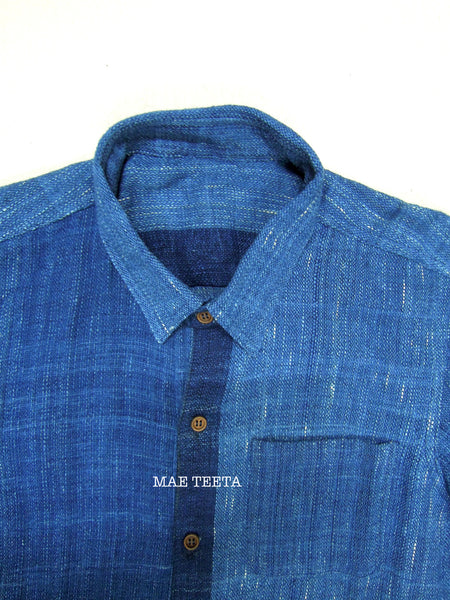 INDIGO hemp shirt